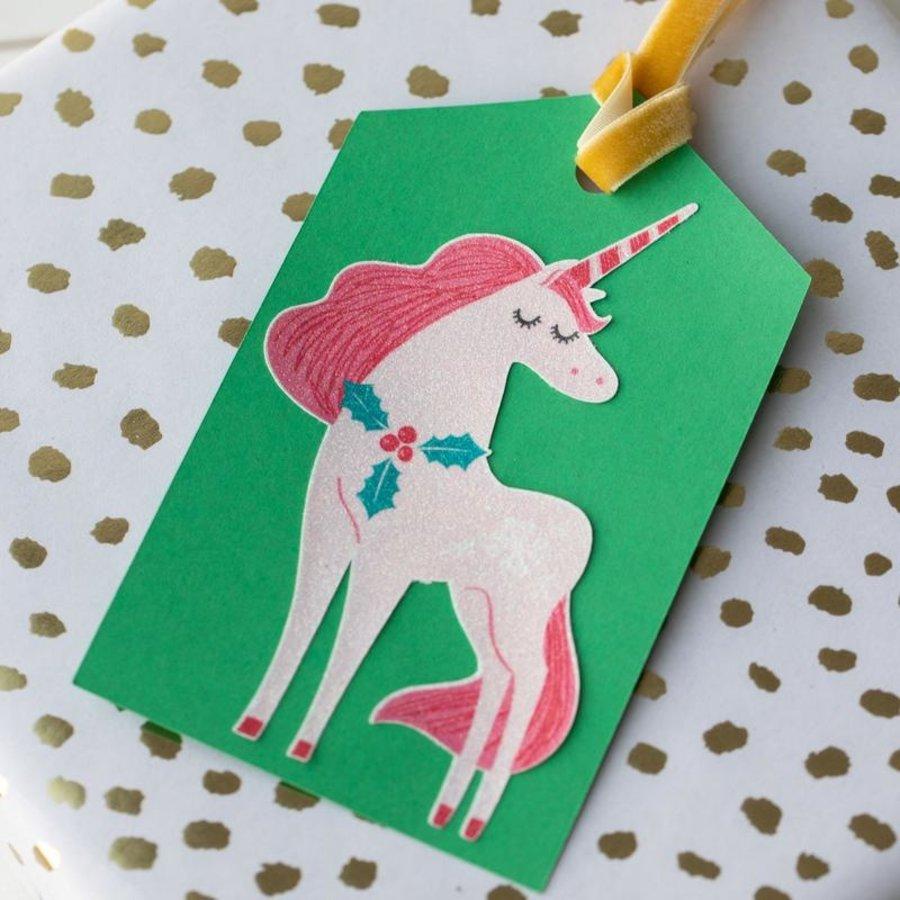 Sticker Paper - Glitter White-4