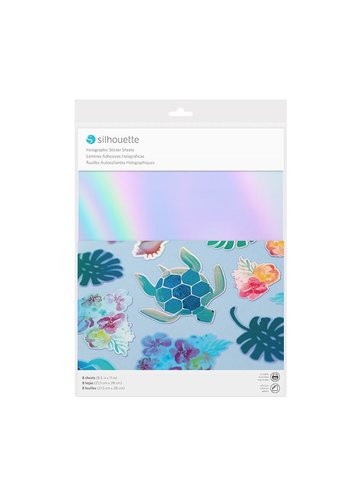 Aufkleber-Papier - holographisch