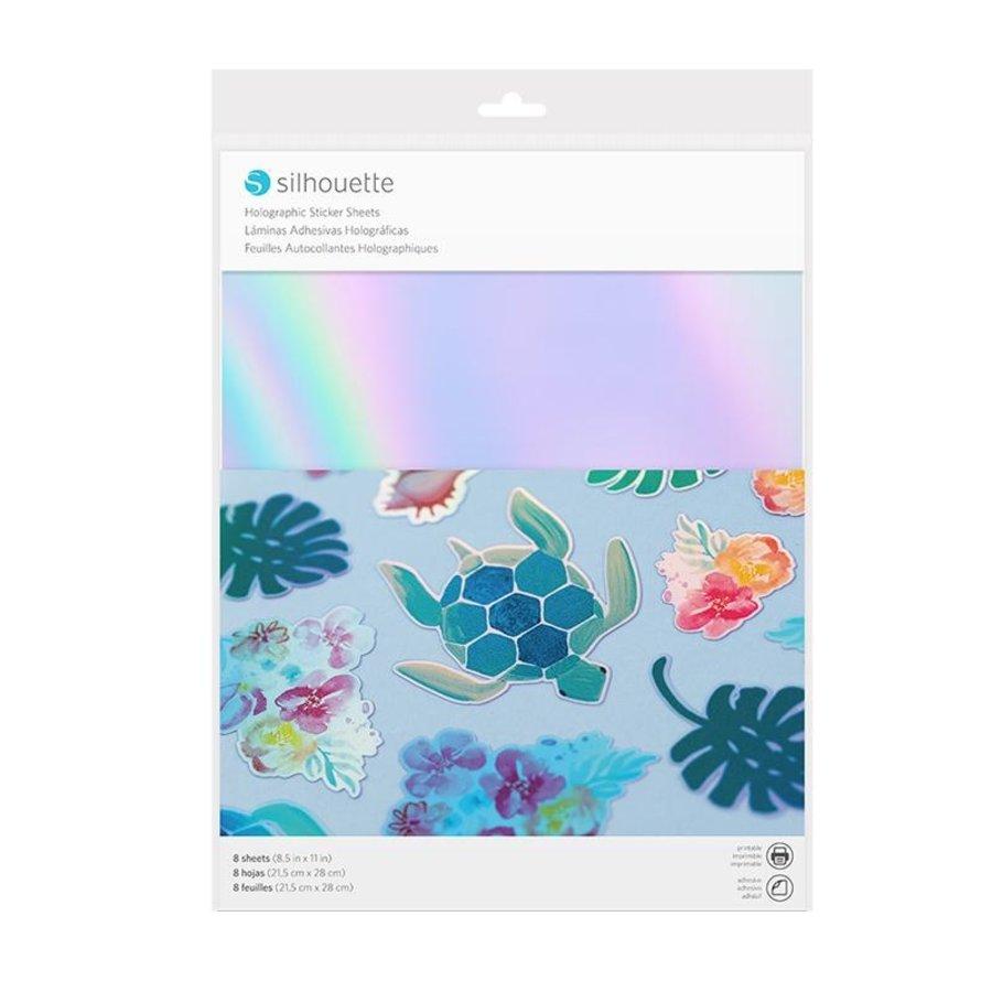 Papier autocollant - holographique-1