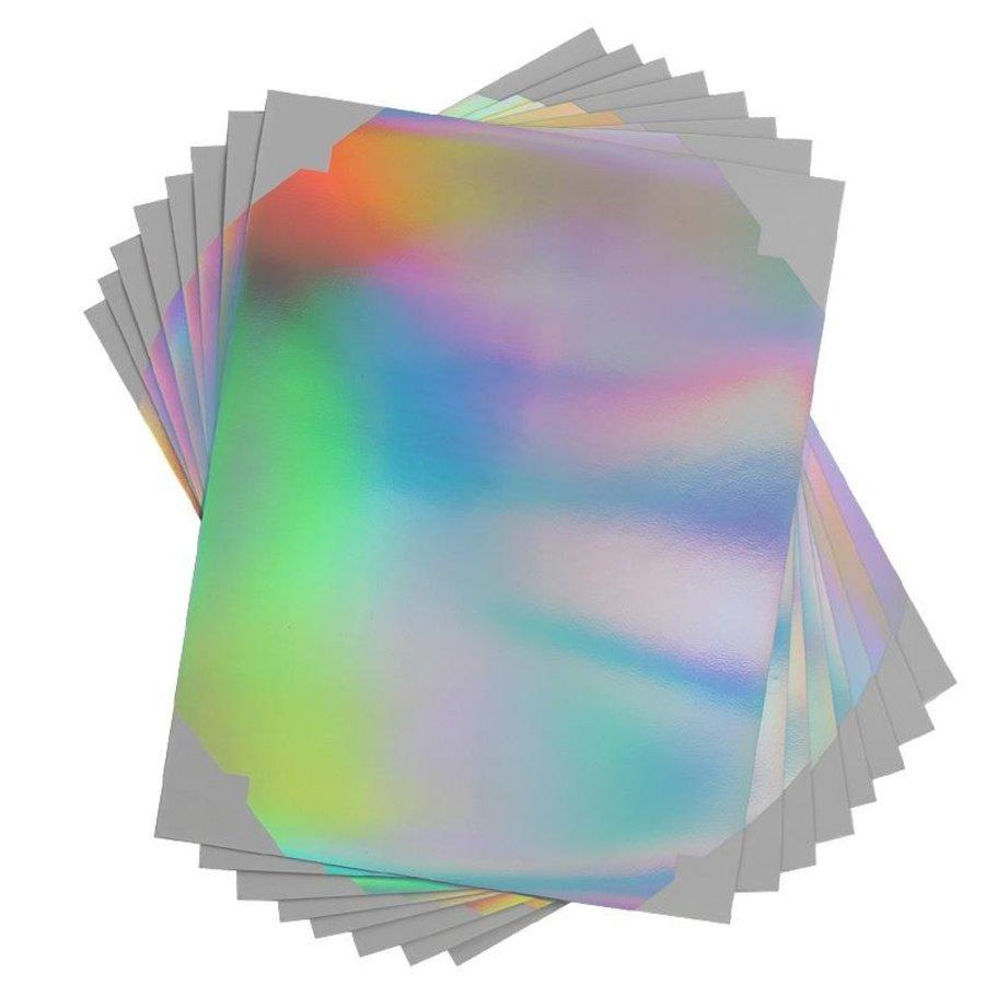 Aufkleber-Papier - holographisch-3