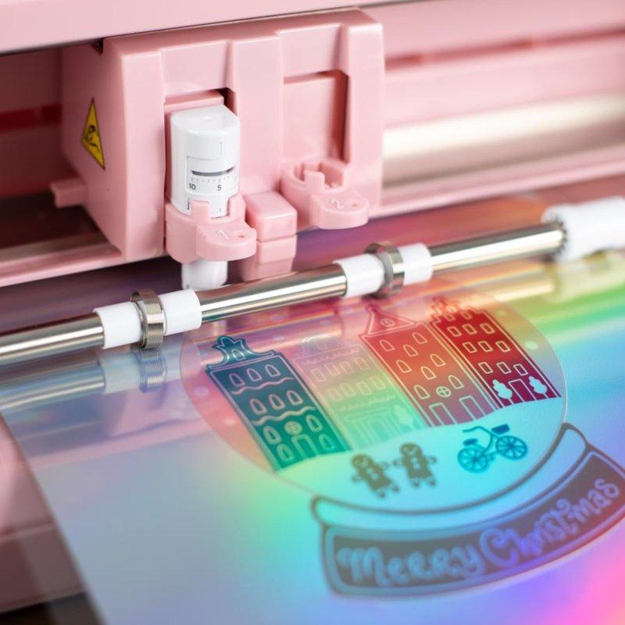Aufkleber-Papier - holographisch-4