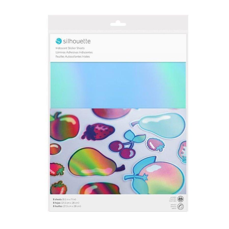 Sticker Papier - schillernd-1