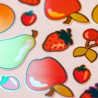 thumb-Sticker Papier - schillernd-3