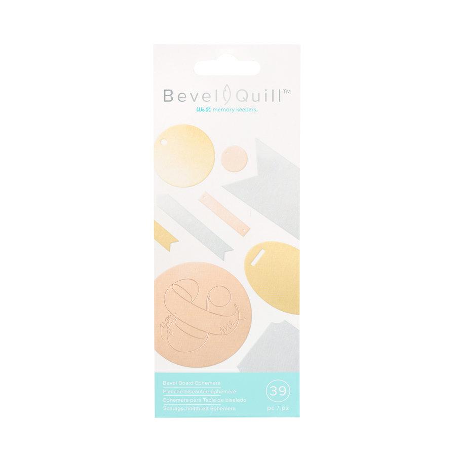 Bevel Quill - Ephemera aus abgeschrägtem Brett-2