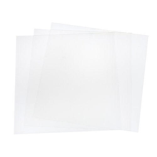 Etch Quill - Etch Plastic sheets - Clear