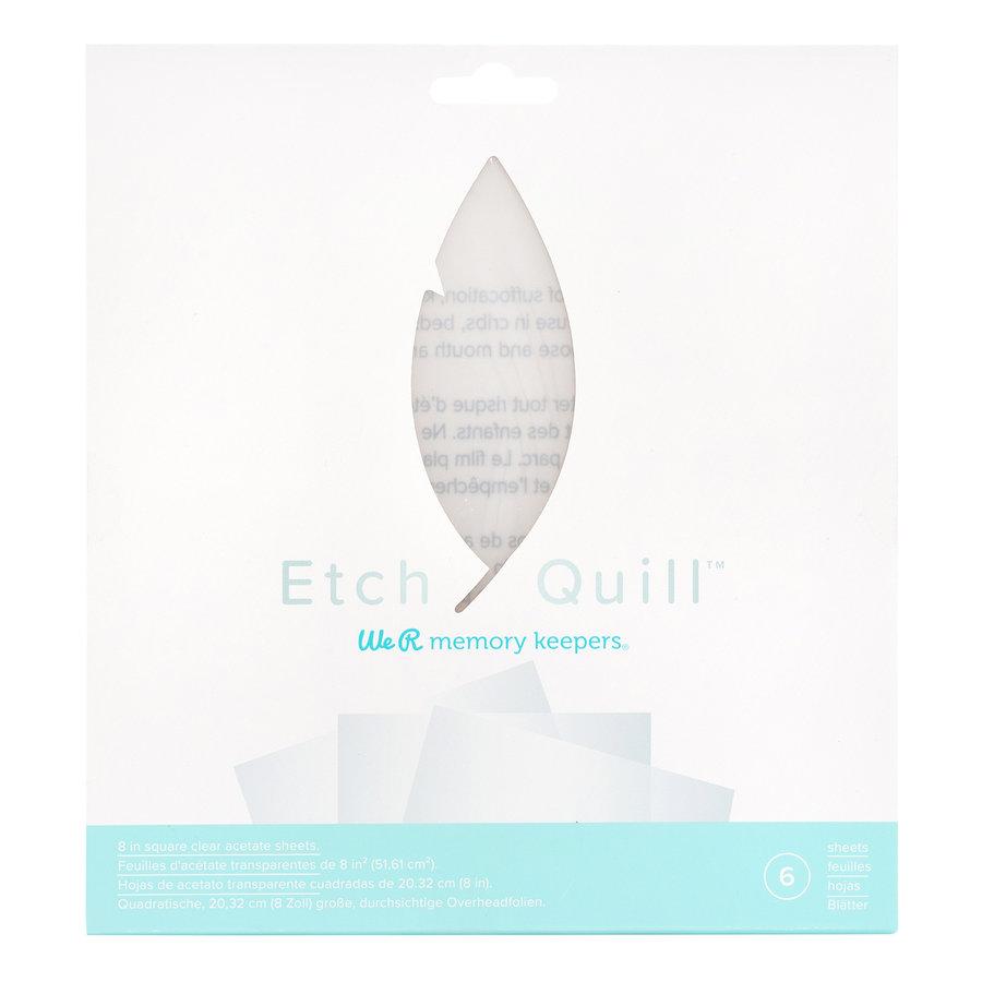 Etch Quill - Etch Plastic vellen - Doorzichtig-2