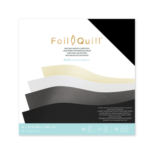 Folie Quill Cardstock 12 x 12