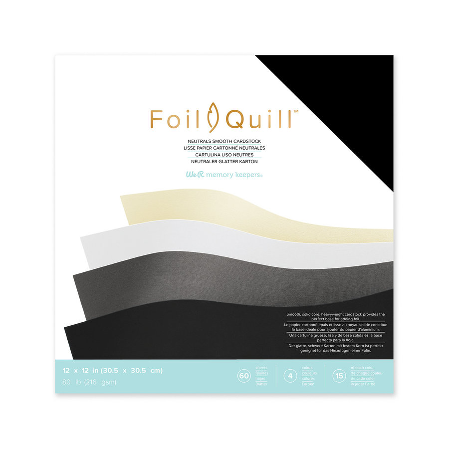 Foil Quill Cardstock 12 x 12-1