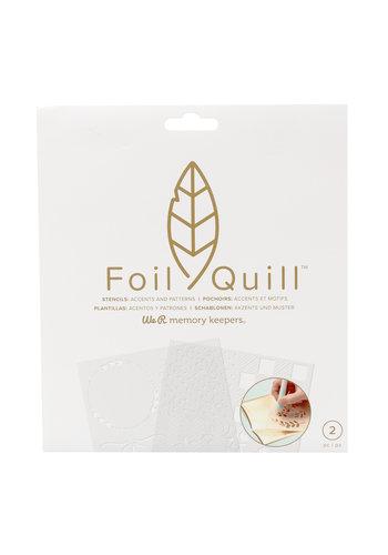 Folie Quill Freestyle-stencils: patronen
