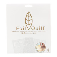 thumb-Foil Quill Freestyle- Stencils:  Floral-1