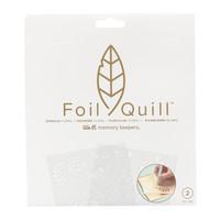 thumb-Folie Quill Freestyle-stencils: bloemen-1