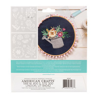 thumb-Foil Quill Freestyle - Pochoirs: Floral-2