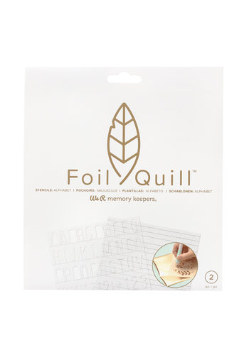 Foil Quill Freestyle - Pochoirs: Basique