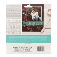 thumb-Foil Quill Freestyle - Pochoirs: Basique-2