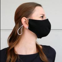 thumb-Mundmaske schwarz oder weiß mit Platz für Filter-1