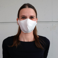thumb-Mouth mask black or white with place for filter-6