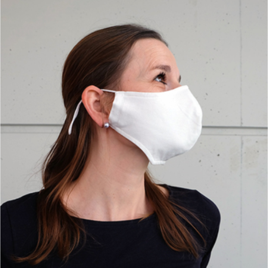Mouth mask black or white with place for filter-2