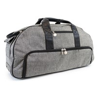 thumb-SILHOUETTE-CAMEO Tweed Rolling Tote (Cameo 1&2)-1