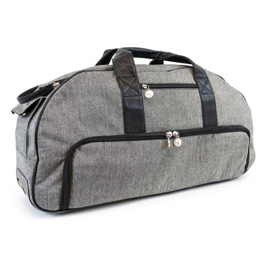 SILHOUETTE-CAMEO Tweed Rolling Tote (Cameo 1 & 2)-1