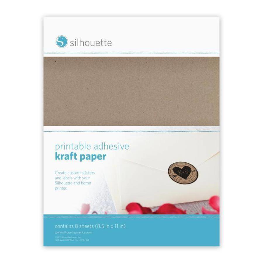 Papier autocollant artisanal imprimable-1