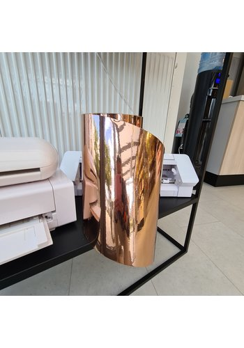 Vinyl Rose Gold Chrome