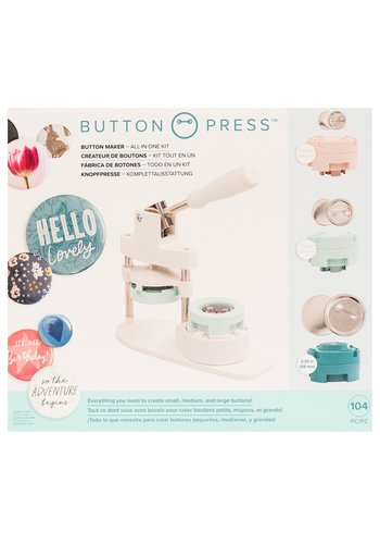 Button Maker All -in-one kit