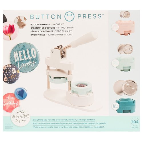 Button Maker All-in-One-Kit