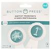 We R Memorykeepers Button Maker Rosetten-Kit
