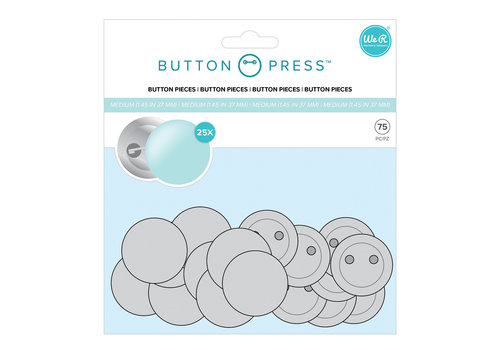 Button Maker Button Nachfüllpackung MITTEL
