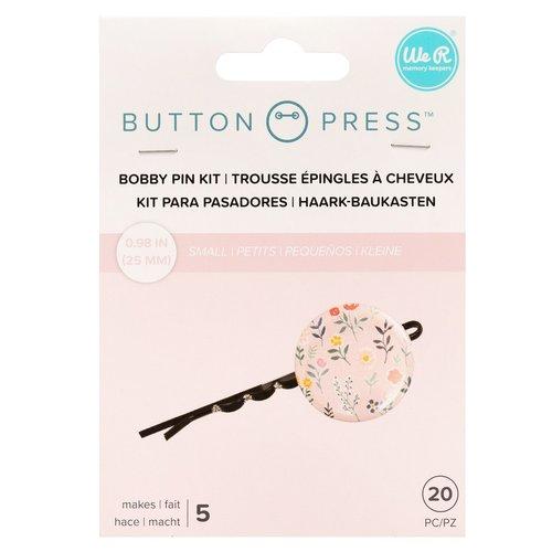 Button Press haarspeld set