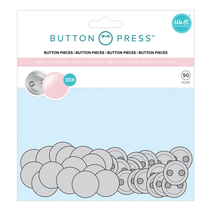 Button Maker Button Navulverpakking SMALL-1
