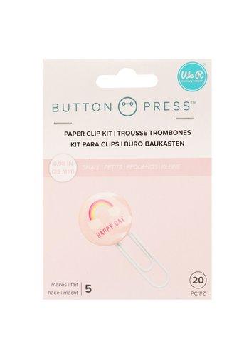 Button Press Paper Clip Backers