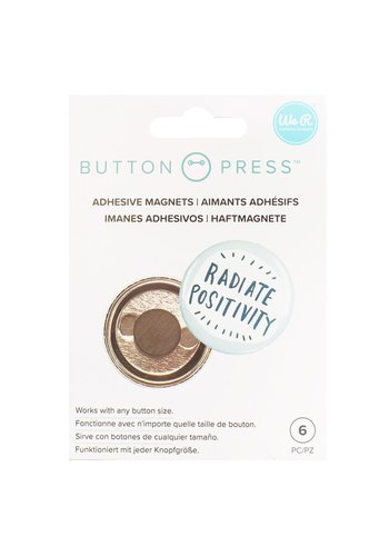 Button Press Adhesive Magnets