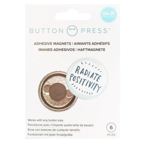 Aimants adhésifs à pression de bouton