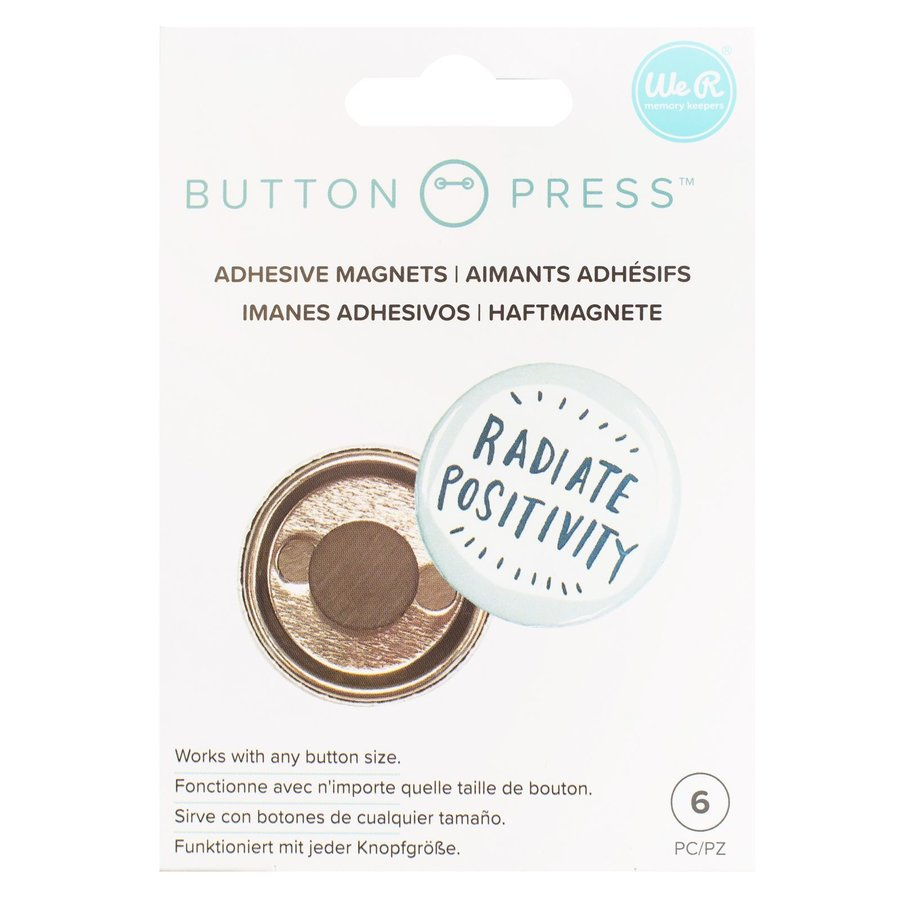 Button Press Adhesive Magnets-1