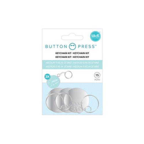 Kit de porte-clés à pression de bouton