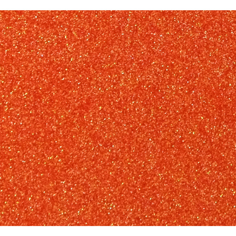 Flex Glitter Ember Orange-1