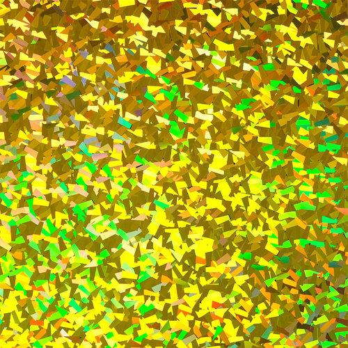 Cristal holographique Flex Gold