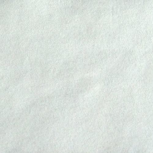 Flock foil white