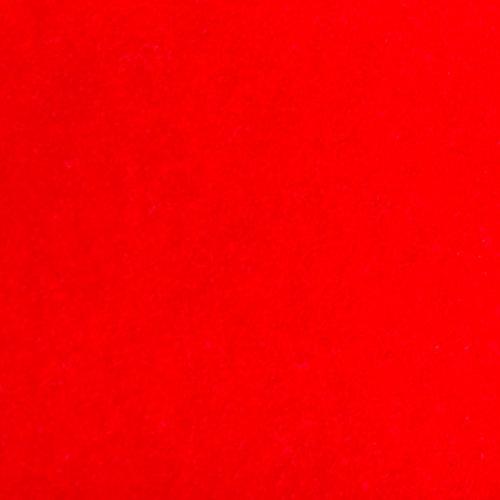 Flock foil Bright Red
