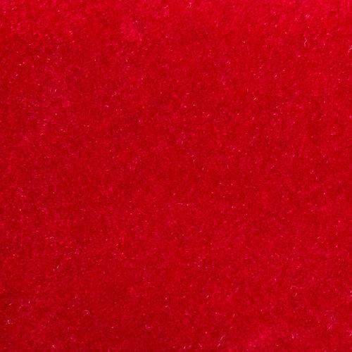 Flock foil Red