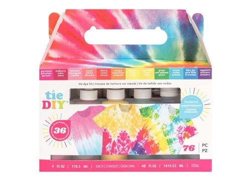 Krawatte DIY Color Vivid Kit