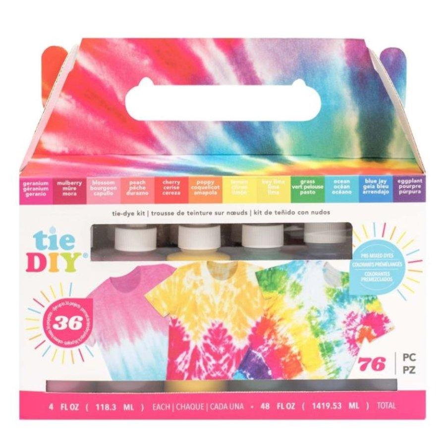 Krawatte DIY Color Vivid Kit-1