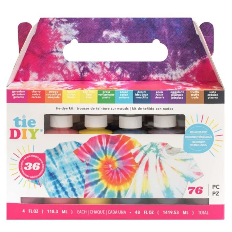 Tie DIY Color Brights Kit-1