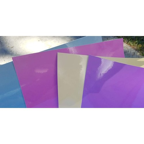 """Vinyle Soleil - 12 """"x 12"""" - Différentes couleurs"""