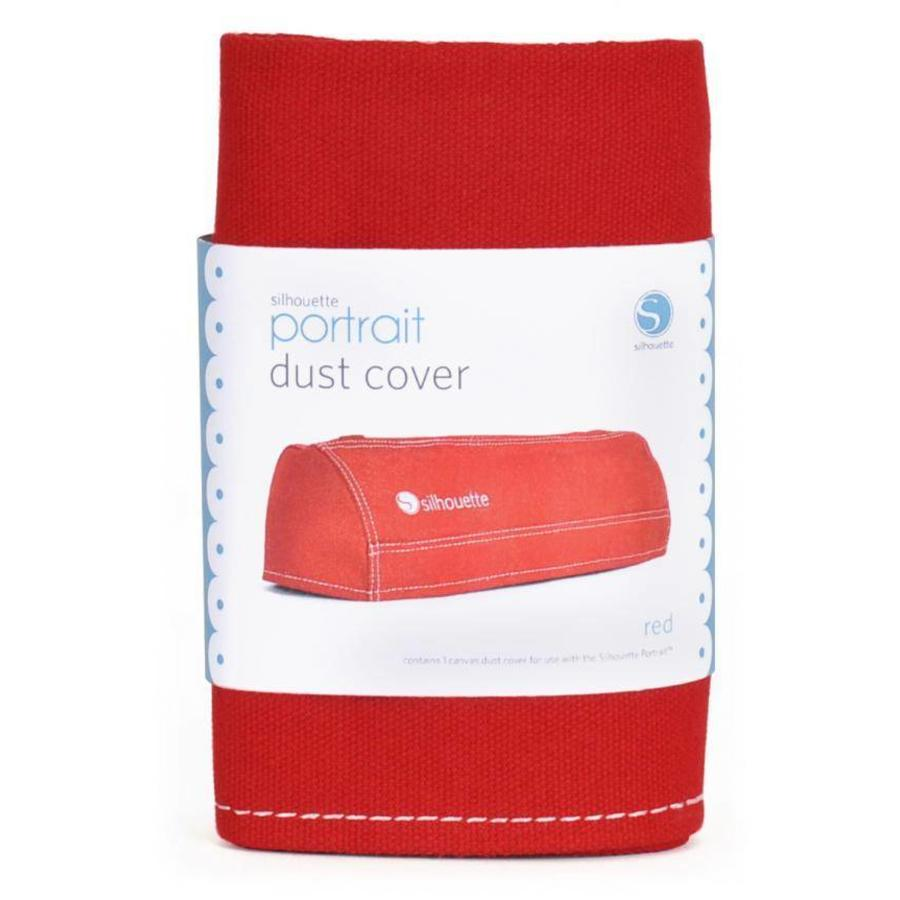 Dust cover for SILHOUETTE-PORTRAIT, Red-1