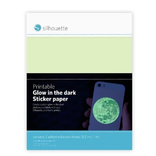 Printable Glow in the dark sticker paper
