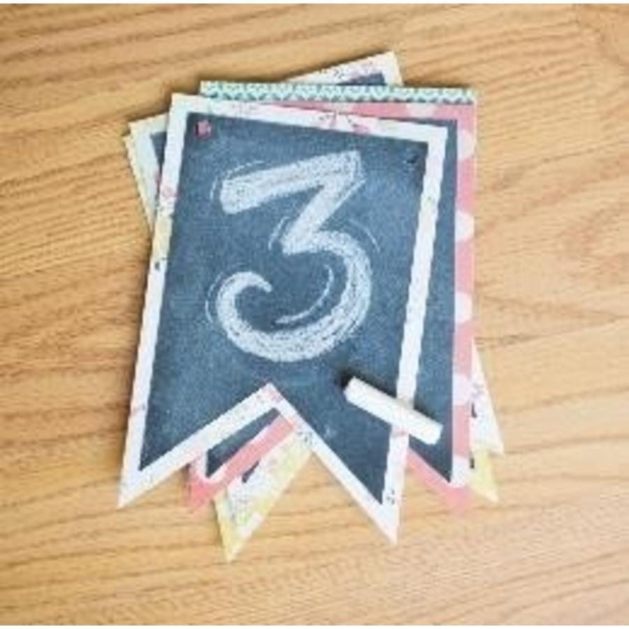Papier cartonné pour tableau noir - dos adhésif-2