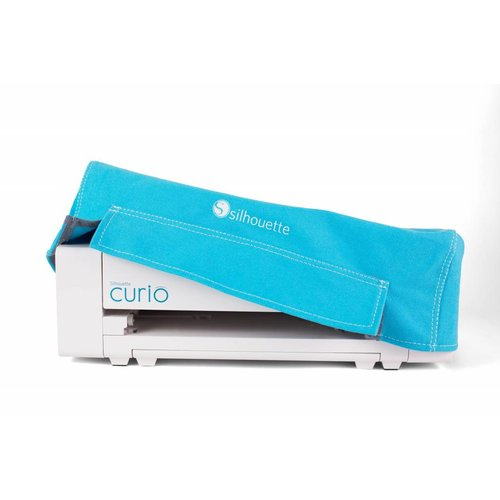 Curio Dust Cover - Blue