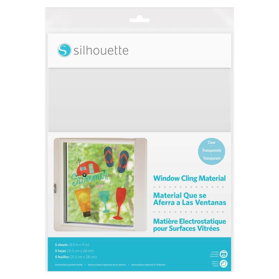 Matériau à coller pour fenêtre imprimable - Transparent-1